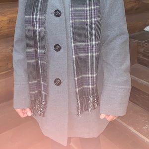Liz Claiborne jacket and scarf